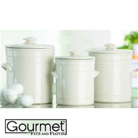 white kitchen canister sets fitz floyd claires