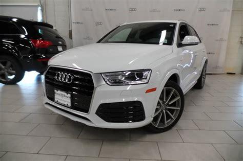 2018 Audi Q3  Glacier White Metallic Au485l