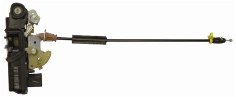 silverado sierra rear rh door lock actuator