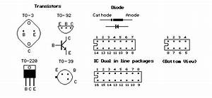 transistor diode ic dip outlines circuit diagram and With neon test screwdriver digital voltage circuit tester set12250v