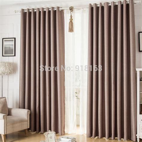 fashion hot sale modern linen curtains  living room