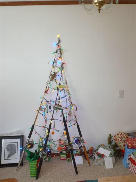 fishing pole christmas tree christmas pinterest