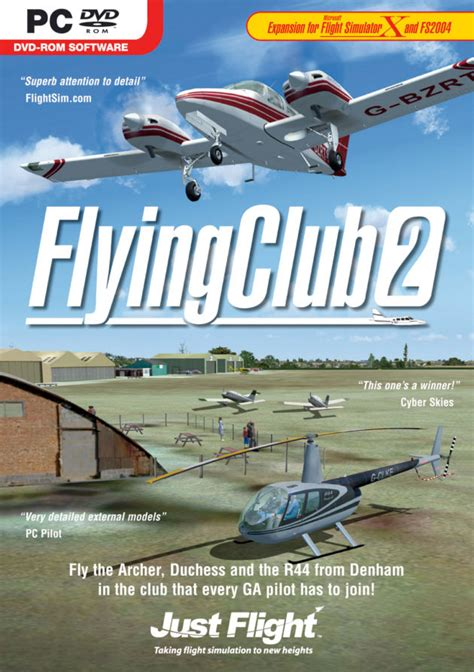 the flying club just flight flying club 2 now available
