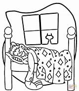 Coloring Night Sleepover Bed Furniture Chandelier Printable Sleep Getcolorings Paper Clipart Bedroom Categories sketch template