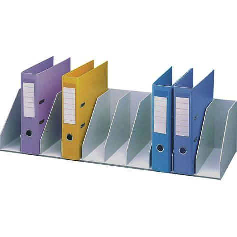etagere classeur pour bureau paperflow trieur pour étagère 10 cases fixes gris module