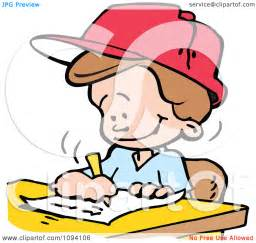 School Writing Clip Art