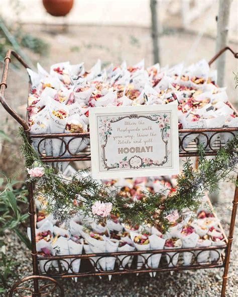 trending  wedding ceremony petal bars martha stewart