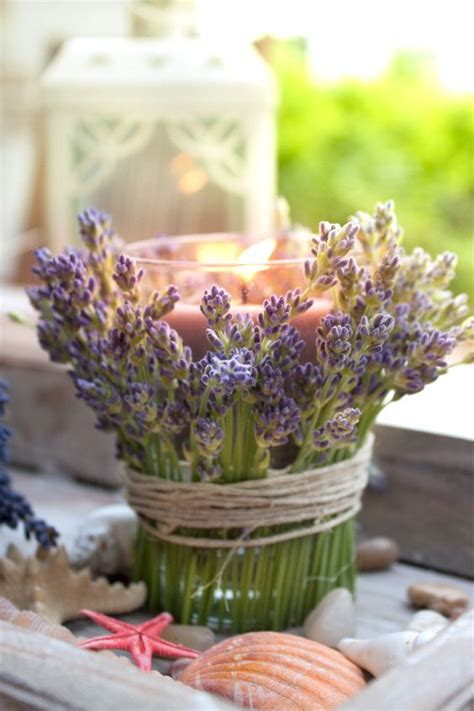 Glass Candle Holders Lavendel Deliciously Smell by 74 Best Images About Tischdeko Blumen On More