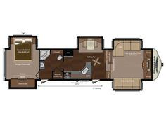 Montana 5th Wheel Bunkhouse Floor Plans by Forest River Cers Bunkhouse King Bed And 2 Bath 5th