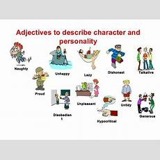 How To Describe Someone's Character And Personality In English  Eslbuzz Learning English