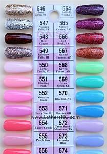 Cnd Shellac Colour Chart Daisy Gel Nail Polish Swatches