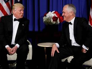 Donald Trump and Australian PM Malcolm Turnbull meet in ...
