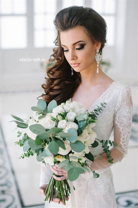 brides favorite wedding hair styles  long hair