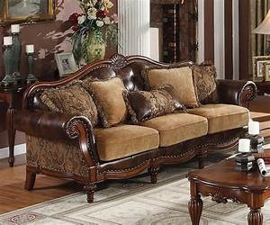 Camelback, Sofa, A, Classic, Design, With, A, Stylish, Touch