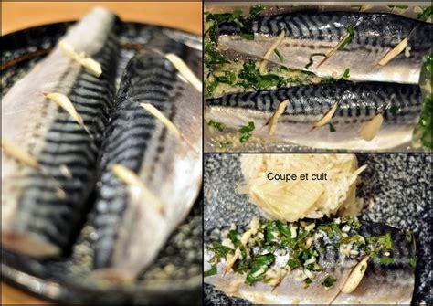 cuisiner du maquereau filets de maquereau marinés et riz au fenouil citronné