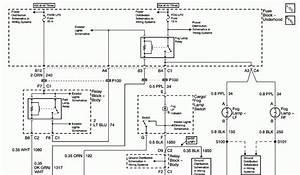 Howtorepairguide Com  Fog Light Wiring Diagram For 2006 Chevy Silverado