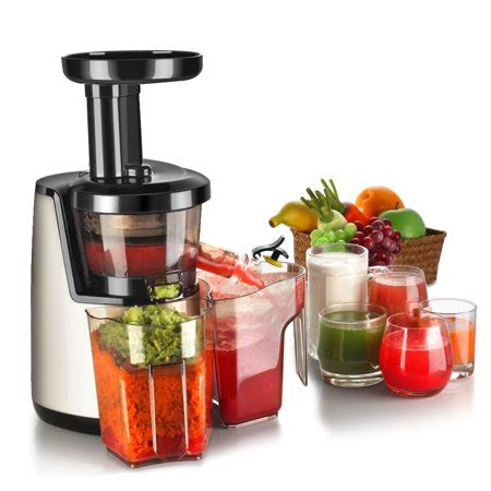 juicer juice machine cold press vegetable fruit juicing slow maker masticating extractor electric walmart bowl greens wheat grass vertical stand