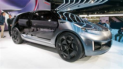 Update Motor Show 2019 : U.s. Designed Gac Entranze Ev Concept Makes Detroit Debut