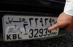 Numéro De Plaque D Immatriculation : le 39 chiffre porte malheur des plaques d 39 immatriculation afghanes le point ~ Maxctalentgroup.com Avis de Voitures