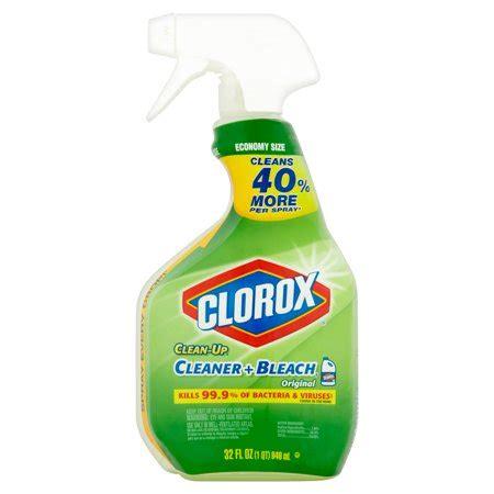 clorox clean   purpose cleaner  bleach spray