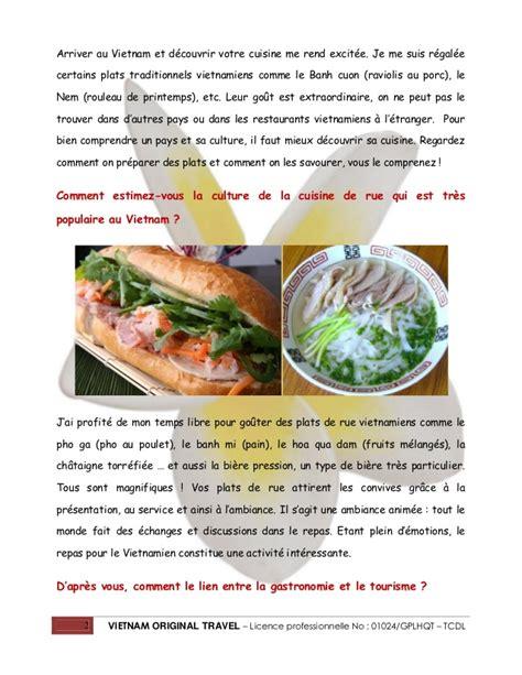 la cuisine vietnamienne attraction de la cuisine vietnamienne