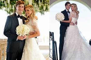 celebrity brides by style ivanka trump modest romance With ivanka trump wedding dress