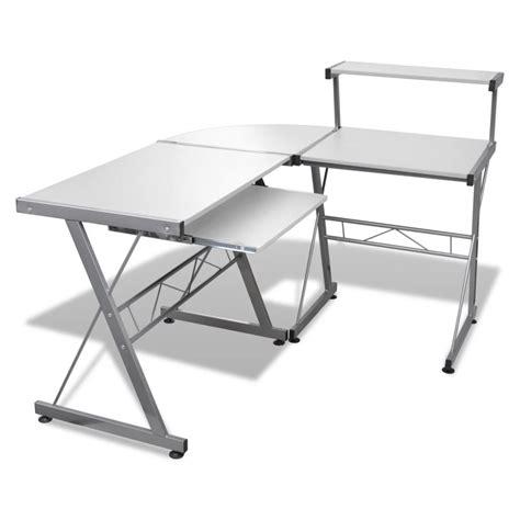 table pour ordinateur de bureau la boutique en ligne grande table de bureau blanche pour
