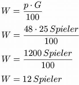 Prozent Berechnen : prozentwert berechnen formel und definition ~ Themetempest.com Abrechnung