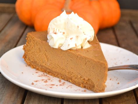 cottage cheese cake recipes molasses pumpkin cheesecake healthier crafty cooking