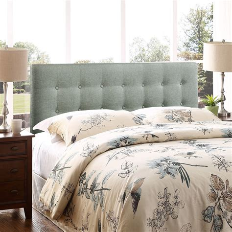 Bedroom Lovely King Size Tufted Headboard For Decoration