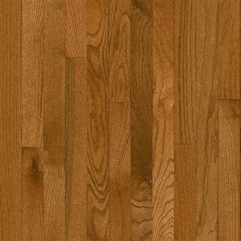 3 1 4 wood flooring bruce plano oak gunstock 3 4 in thick x 2 1 4 in wide x random length solid hardwood flooring