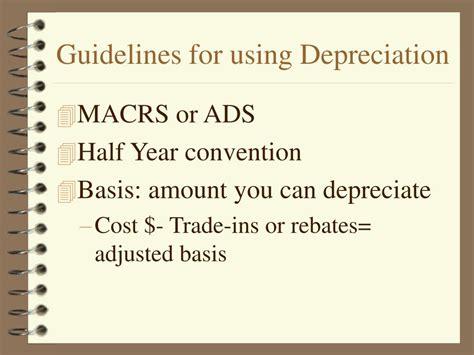 depreciation powerpoint