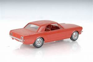 1965 and 1966 Red Ford Mustang Dealer Promo Model Car : EBTH