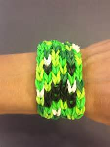 Minecraft Creeper Band Bracelet Loom