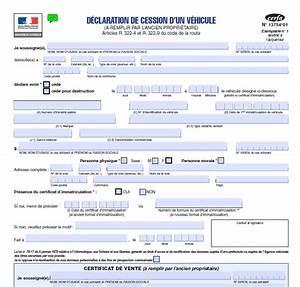 Document Pour Vente De Voiture : certificat de vente de voiture carte grise express ~ Gottalentnigeria.com Avis de Voitures