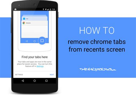 how to remove from android tablet how to remove chrome tabs from recents screen on android 5