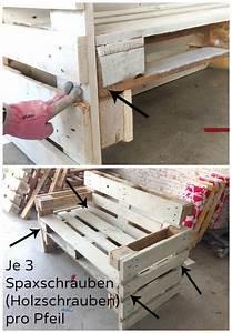 Möbel Aus Paletten Bauen : m bel aus paletten bauen anleitung furniture diy furniture and benches ~ Sanjose-hotels-ca.com Haus und Dekorationen