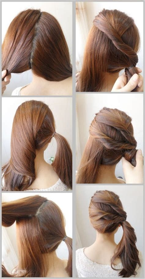 cute easy hairstyles ideas  girls  xerxes