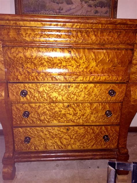 antique birdseye maple dresser value sale magnificent antique empire birdseye maple
