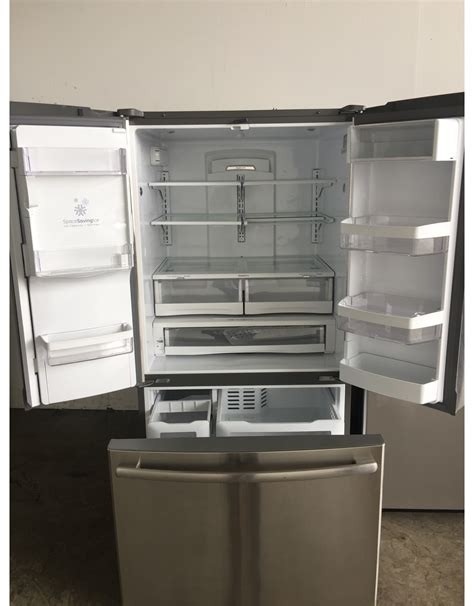 ge ge french door stainless refrigerator wice water dispenser discount city appliance