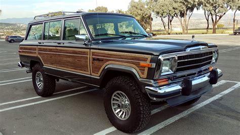 ls powered  jeep grand wagoneer  sale  bat