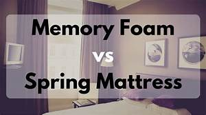 vs memory foam mattress what to buy and why