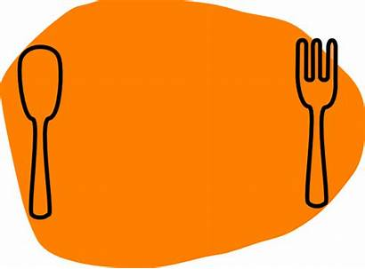 Dinner Clipart Meal Chips Clip Plate