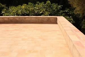 carrelage rectangulaire en terre cuite carrelage With carrelage terre cuite exterieur