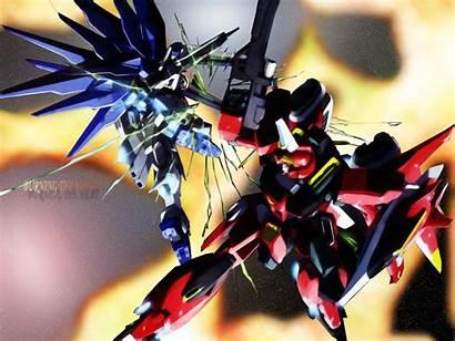 Gundam Suit Mobile Seed Burning Studio Sunrise