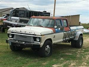 1975 Ford Crew Cab Dually Sled Pull Truck For Sale