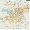 Shreveport Metro Map | Digital Vector | Creative Force
