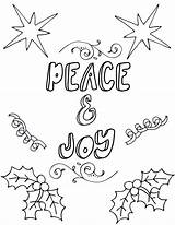 Coloring Printable Christmas Pages Adults Adult Printables Sheets Unclutteredsimplicity Books Activity Joy Valentine Flower Spring Peace Tree sketch template