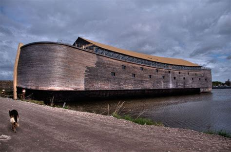 Ark Lost Boat by A Modern Day Ark Styled Megayacht Noah S Ark In The