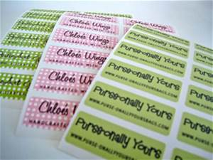 custom personalized iron on or peel and stick adhesive With design own clothing label